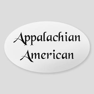 Appalachian American Rectangle Sticker