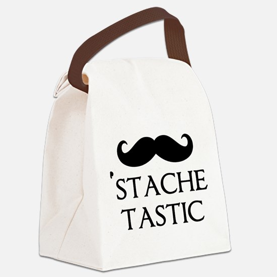'Stache Tastic Canvas Lunch Bag