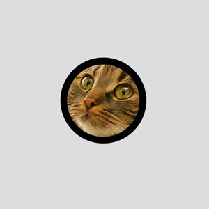 Artful Cat Mini Button