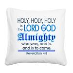 Revelation 4:8 Square Canvas Pillow