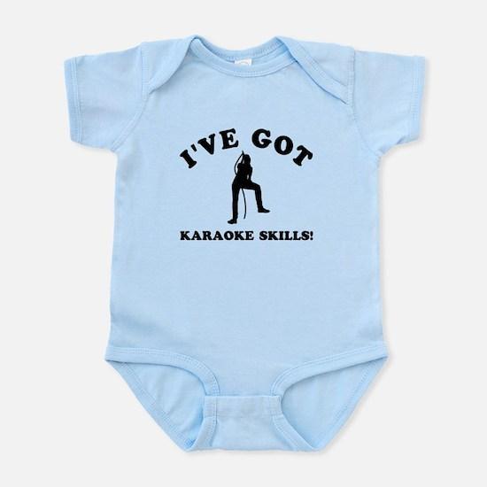 I've got Karaoke skills Infant Bodysuit