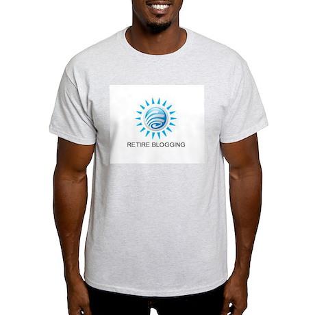 Retire Blogging T-Shirt