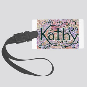 Kathy #1 Large Luggage Tag