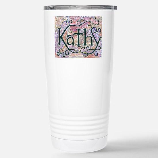 Kathy #1 Stainless Steel Travel Mug