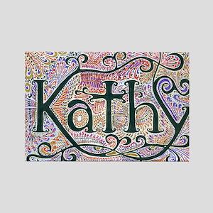 Kathy #1 Rectangle Magnet