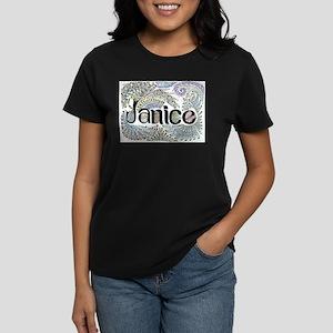 Janice Women's Dark T-Shirt
