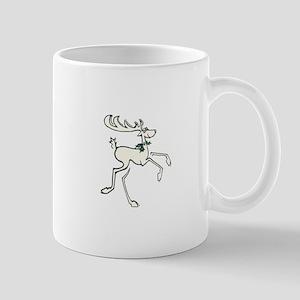 Deer With Holly Mug