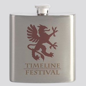 Griffen Red Flask