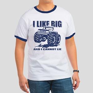I Like Big Trucks Ringer T