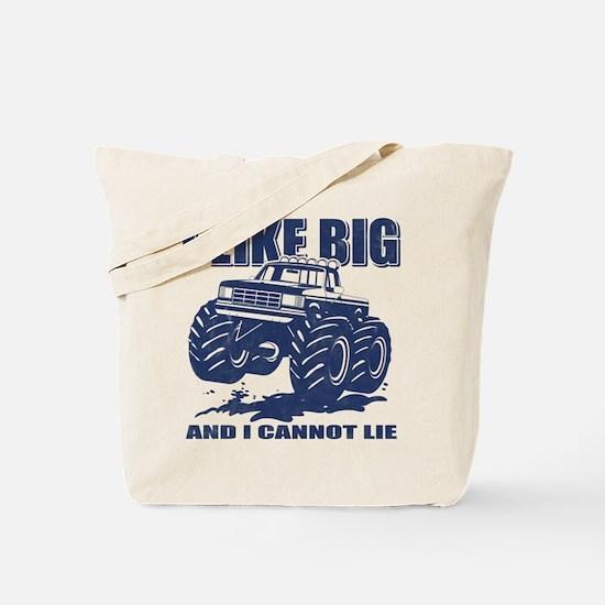 I Like Big Trucks Tote Bag