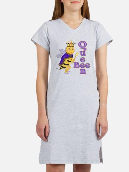 Queen Bee Humor Women's Nightshirt