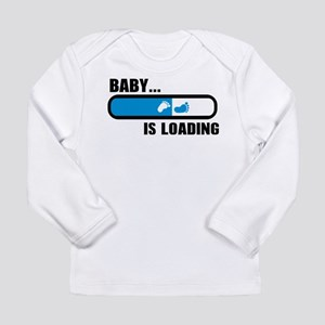 Baby loading feet Long Sleeve Infant T-Shirt