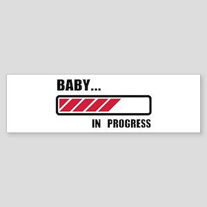 Baby in progress loading Sticker (Bumper)