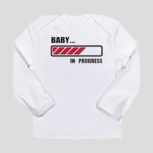 Baby in progress loading Long Sleeve Infant T-Shir