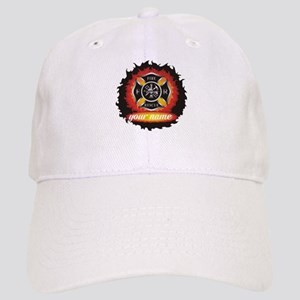 Personalized Fire and Rescue Baseball Cap