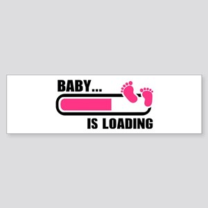 Baby loading bar Sticker (Bumper)