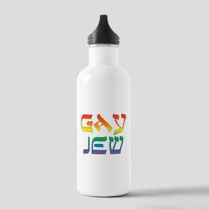 Gay Jew Water Bottle