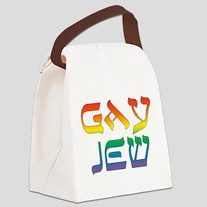 Gay Jew Canvas Lunch Bag