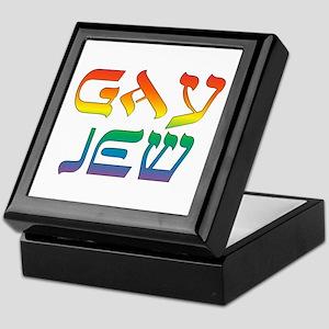 Gay Jew Keepsake Box