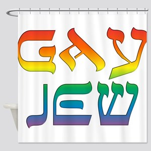 Gay Jew Shower Curtain