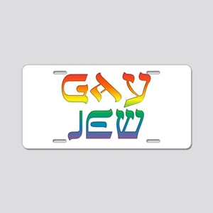 Gay Jew Aluminum License Plate