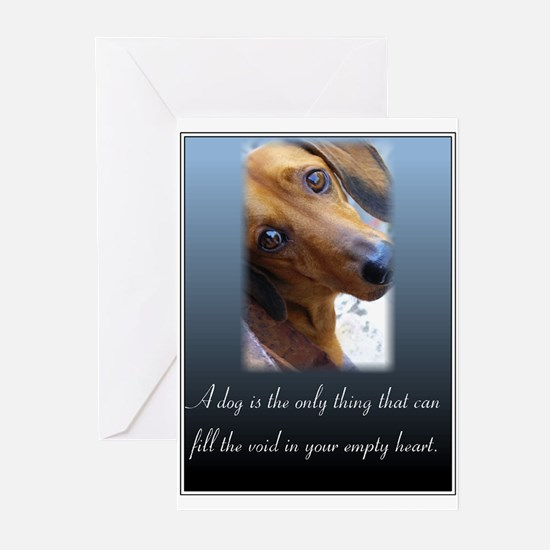 The Dachshund Greeting Cards (Pk of 10)