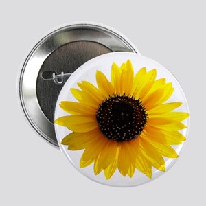 "Golden sunflower 2.25"" Button"
