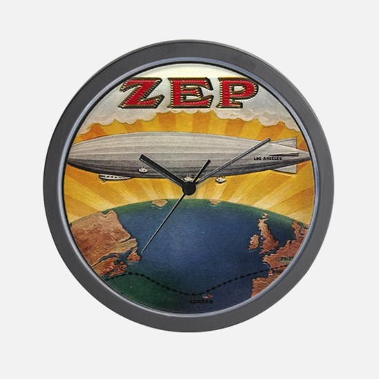 Zep Antique Cigar Label Zeppe Wall Clock