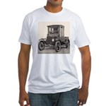 Antique Auto Car Photograph Fitted T-Shirt