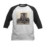 Antique Auto Car Photograph Kids Baseball Jersey