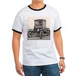 Antique Auto Car Photograph Ringer T
