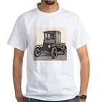 Antique Auto Car Photograph White T-Shirt