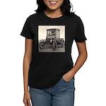 Antique Auto Car Photograph Women's Dark T-Shirt