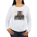 Antique Auto Car Photograph Women's Long Sleeve T-