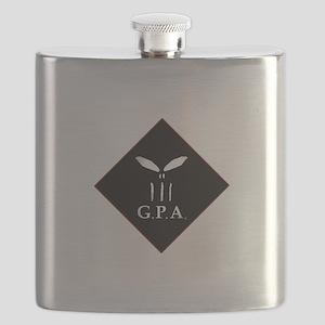 GPA Diamond Logo Flask