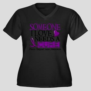 Needs A Cure LUPUS Plus Size T-Shirt
