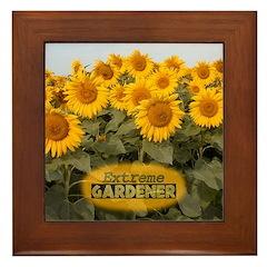 Extreme Gardener Framed Tile