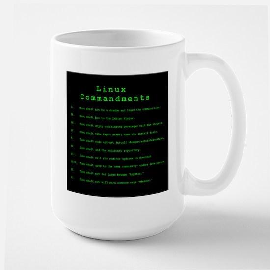 Linux Commandments Mugs