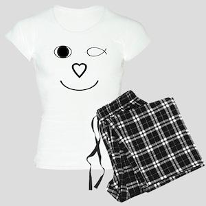 I Heart Jesus Face Pajamas
