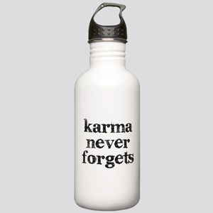 Karma Never Forgets Water Bottle