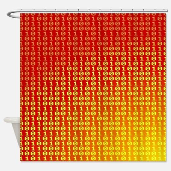 Hot bits Shower Curtain