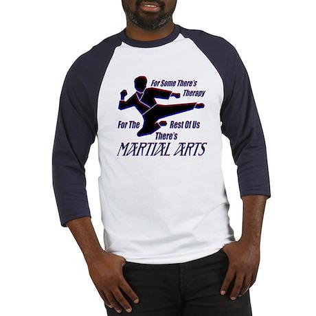 Martial Arts Therapy Baseball Jersey