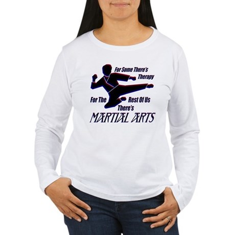 Martial Arts Therapy Women's Long Sleeve T-Shirt