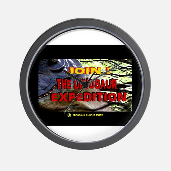 Join the Dinosaur Expedition (Image 2) Wall Clock