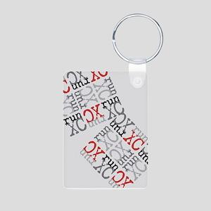 Run XC Cross Country Keychains