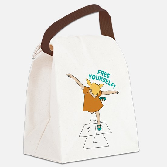Free Yourself! Canvas Lunch Bag
