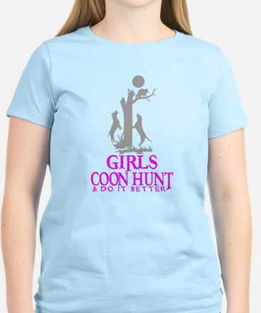 GIRL COON HUNTER T-Shirt
