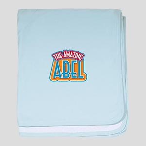 The Amazing Abel baby blanket
