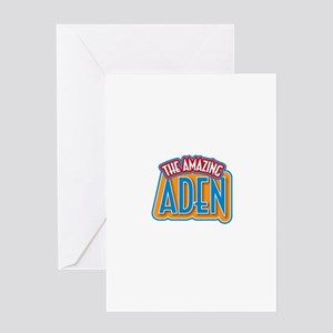 The Amazing Aden Greeting Card
