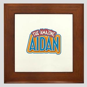 The Amazing Aidan Framed Tile